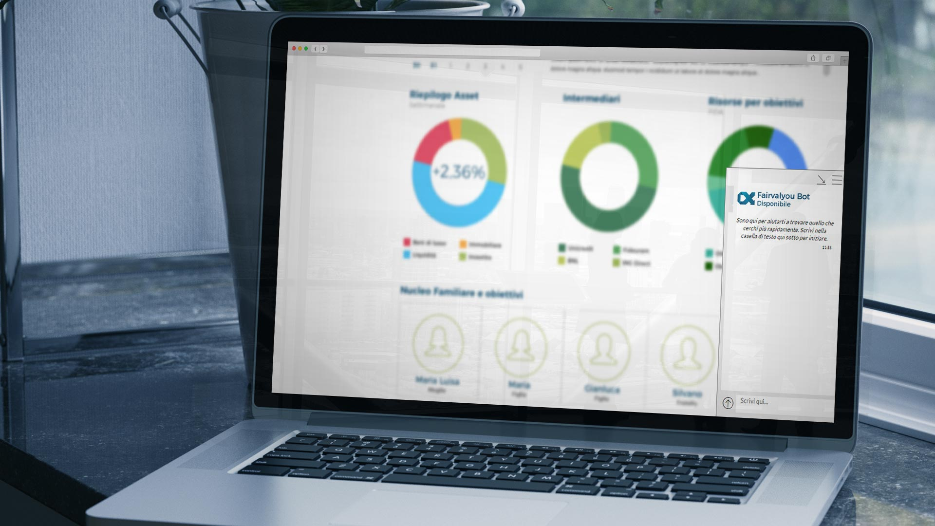 Piattaforma consulenti finanziari indipendenti:  Chat bot evoluti - Fairvalyou