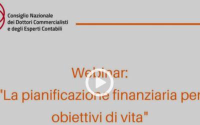 I commercialisti preferiscono la pianificazione finanziaria goal based investing